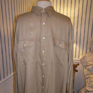 Polo Ralph Lauren Whitfield 100% Viscose Button Up